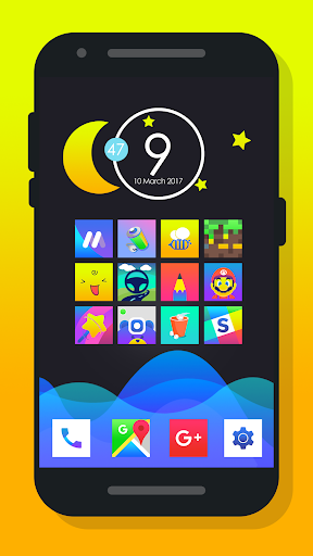 Rocsy Square - Icon Pack