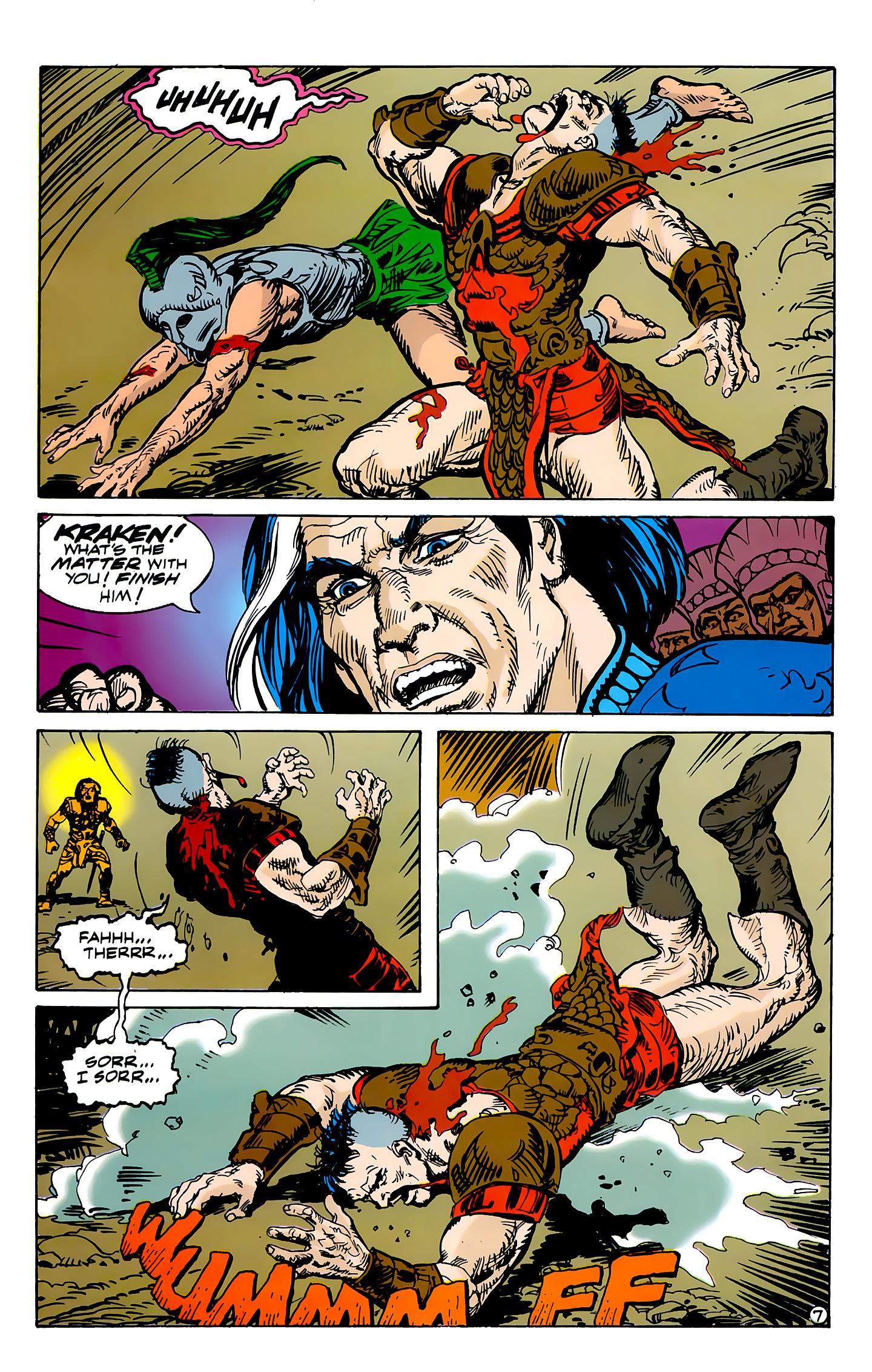 Read online Atlantis Chronicles comic -  Issue #7 - 8