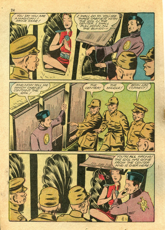 Read online Super-Magician Comics comic -  Issue #14 - 24