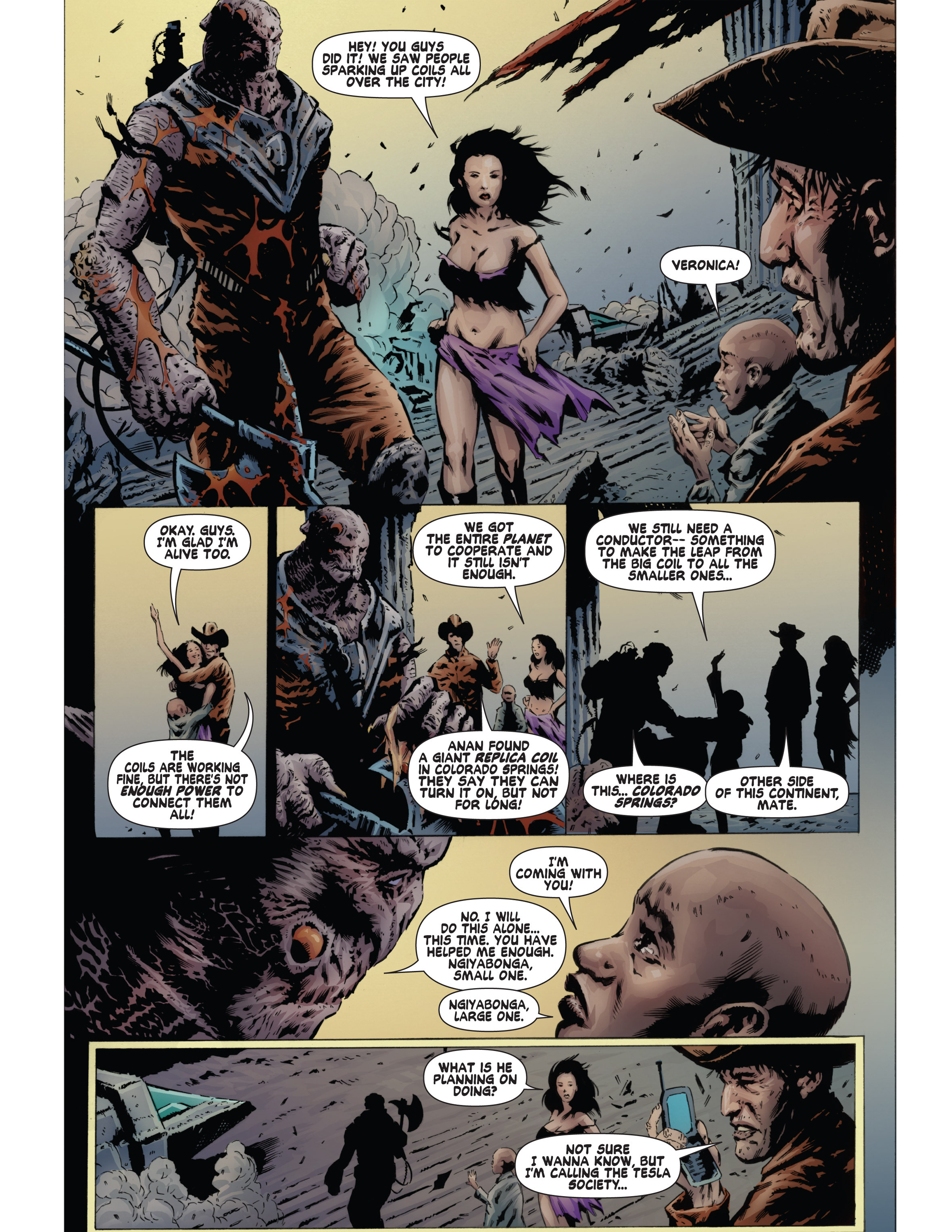 Read online Bad Planet comic -  Issue # TPB - 128