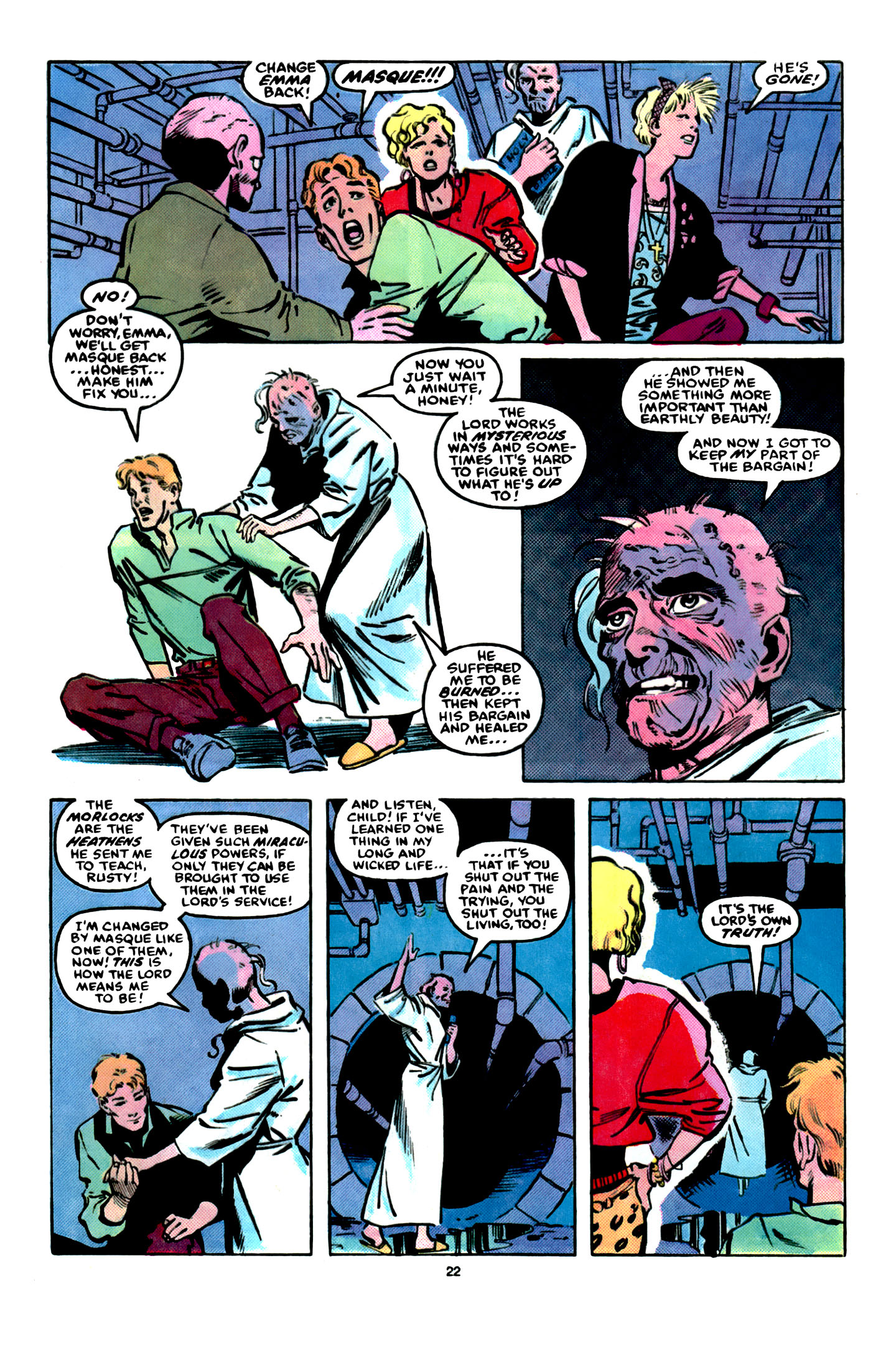 Read online X-Factor (1986) comic -  Issue #16 - 23