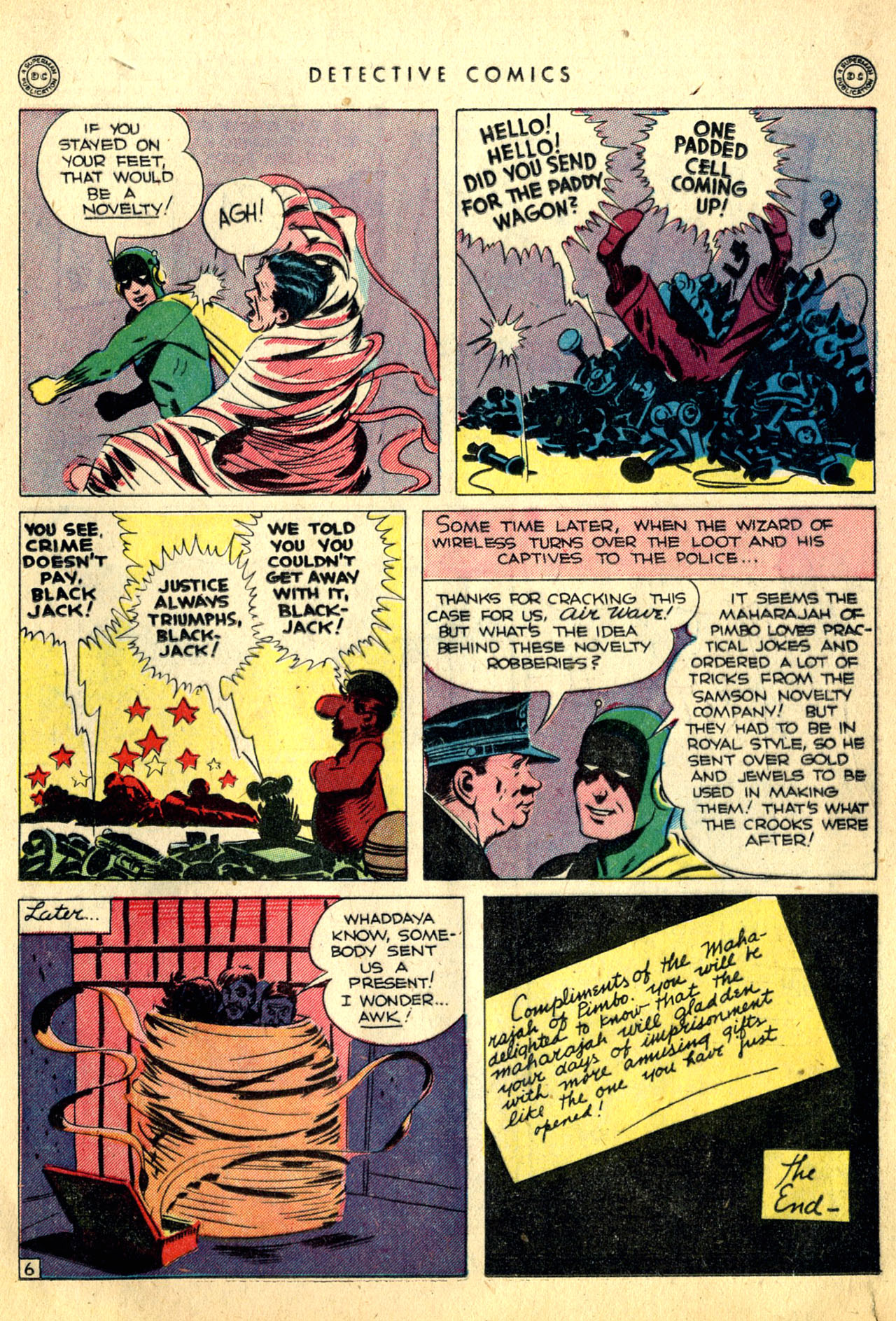 Read online Detective Comics (1937) comic -  Issue #91 - 31