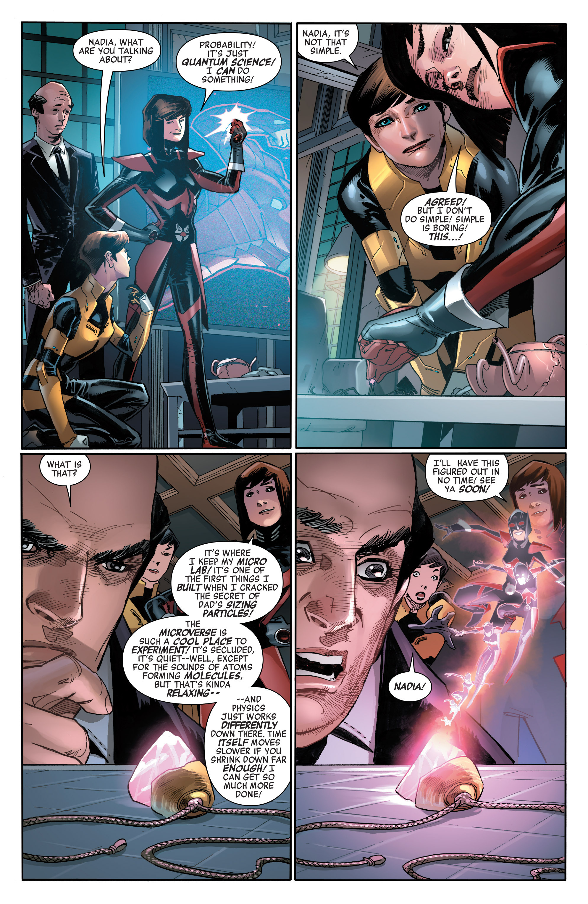 Read online All-New, All-Different Avengers comic -  Issue #14 - 15