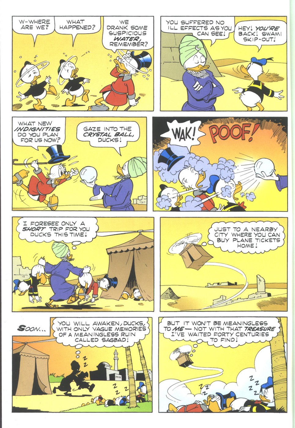 Read online Uncle Scrooge (1953) comic -  Issue #345 - 18