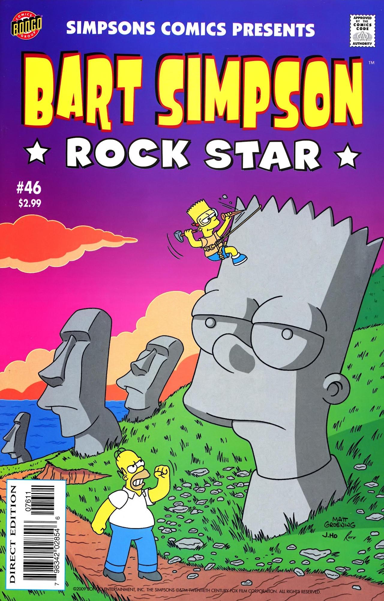 Read online Simpsons Comics Presents Bart Simpson comic -  Issue #46 - 1