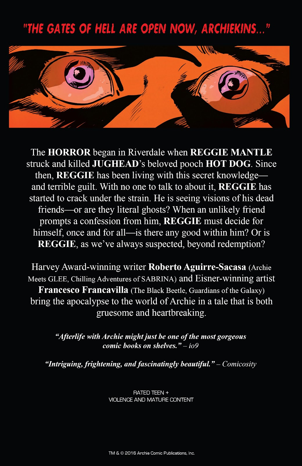 Afterlife with Archie issue 9 - Page 35