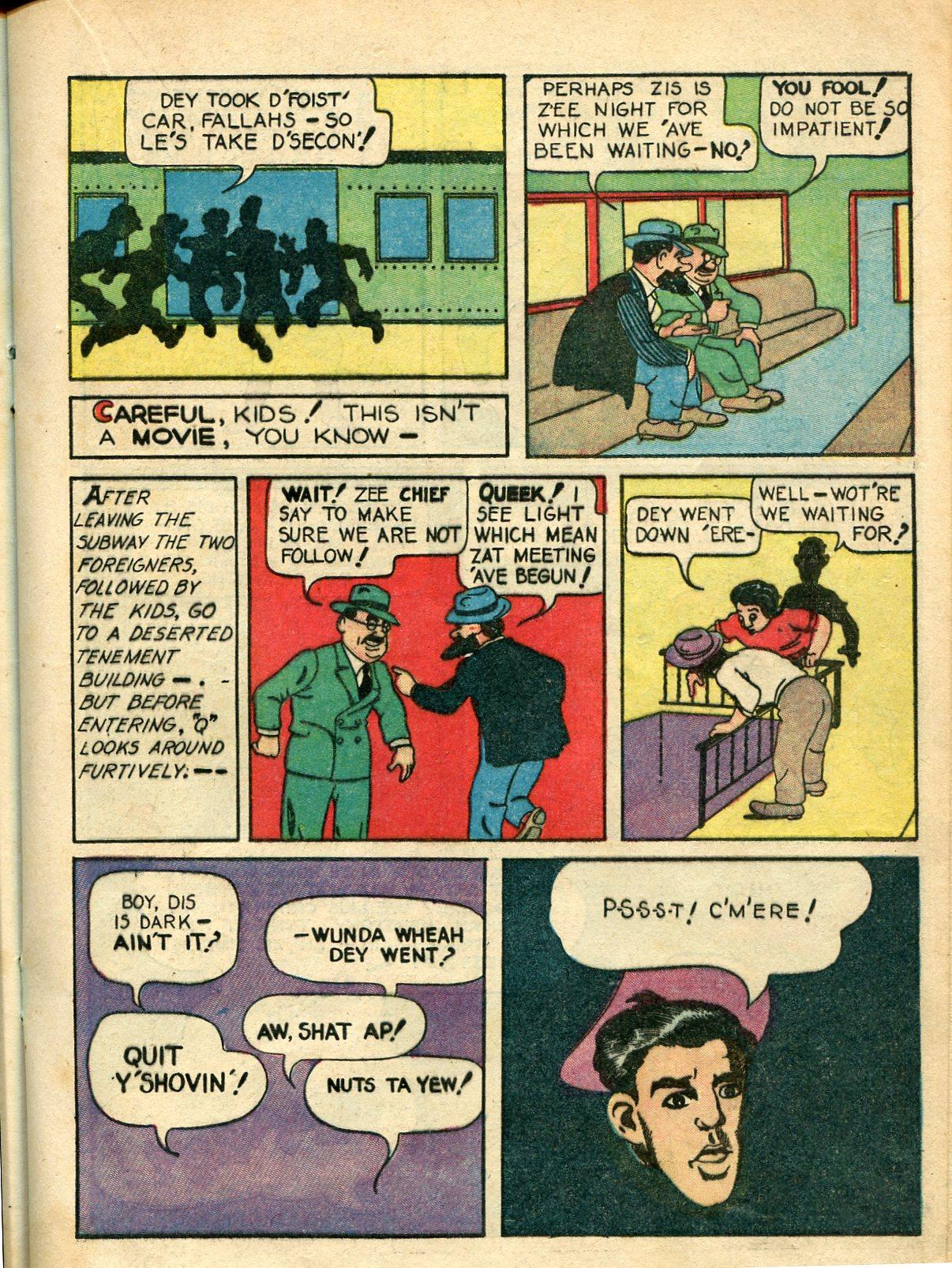 Read online Shadow Comics comic -  Issue #10 - 31
