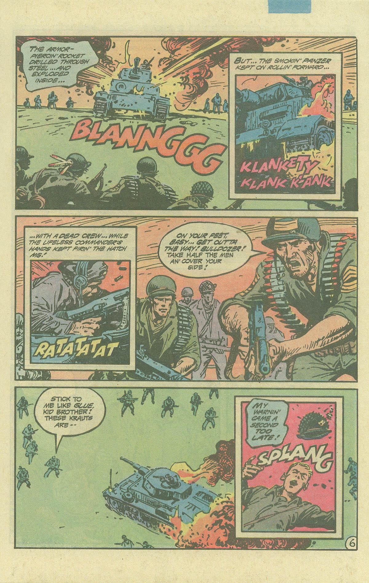 Read online Sgt. Rock comic -  Issue #393 - 6