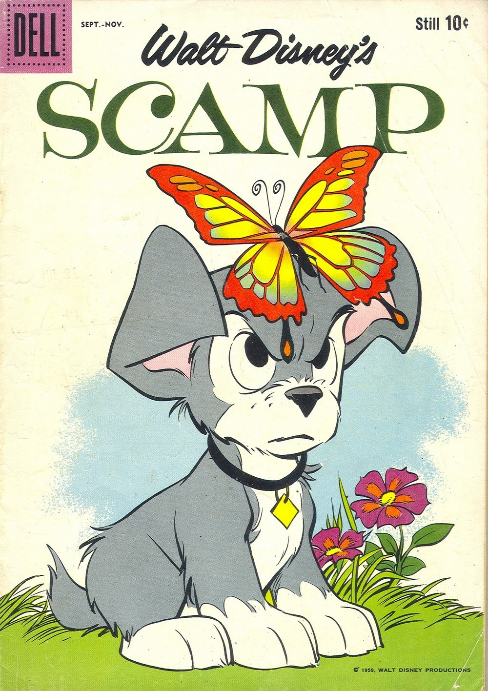 Scamp (1958) 11 Page 1