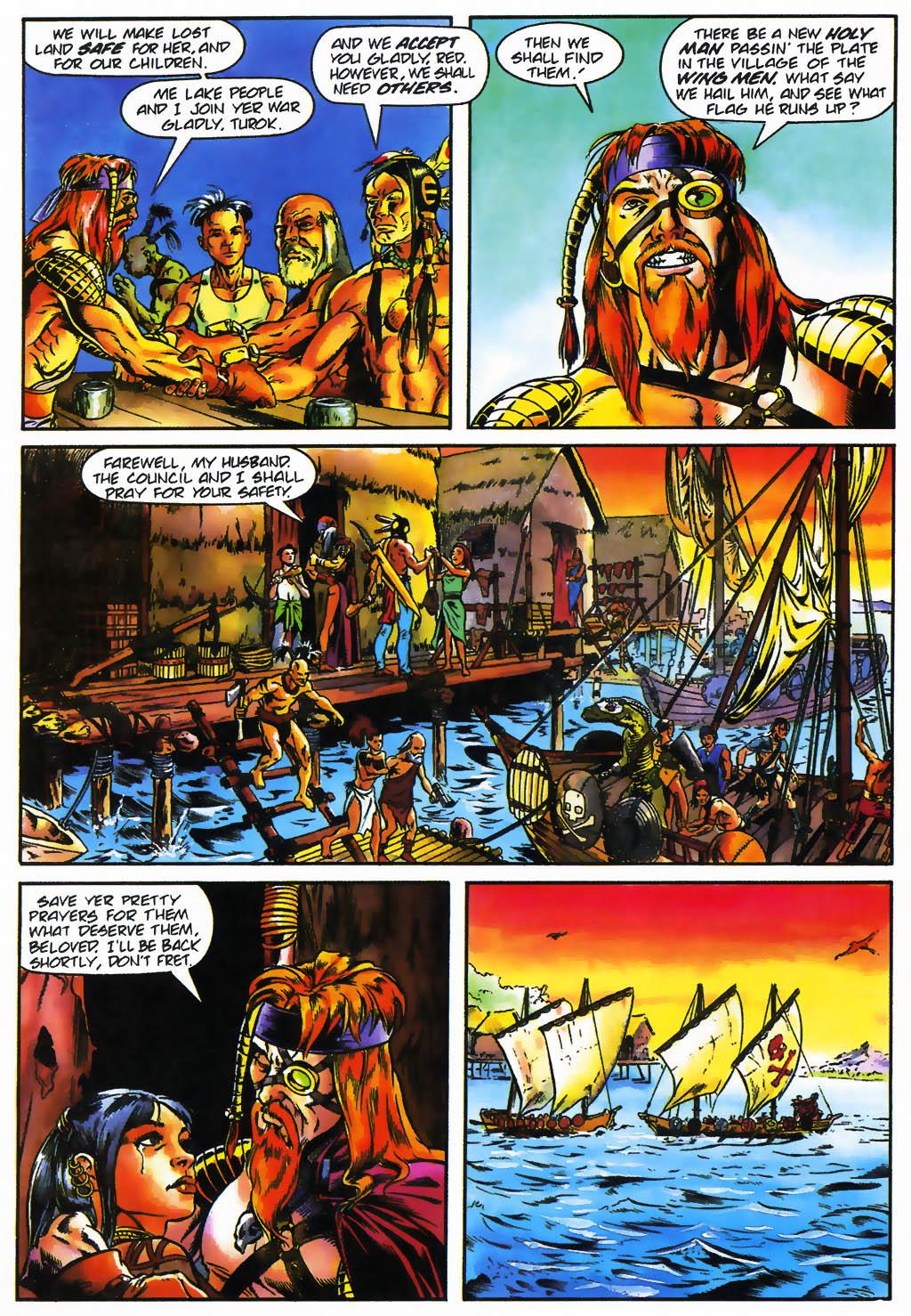 Read online Turok, Dinosaur Hunter (1993) comic -  Issue #26 - 16