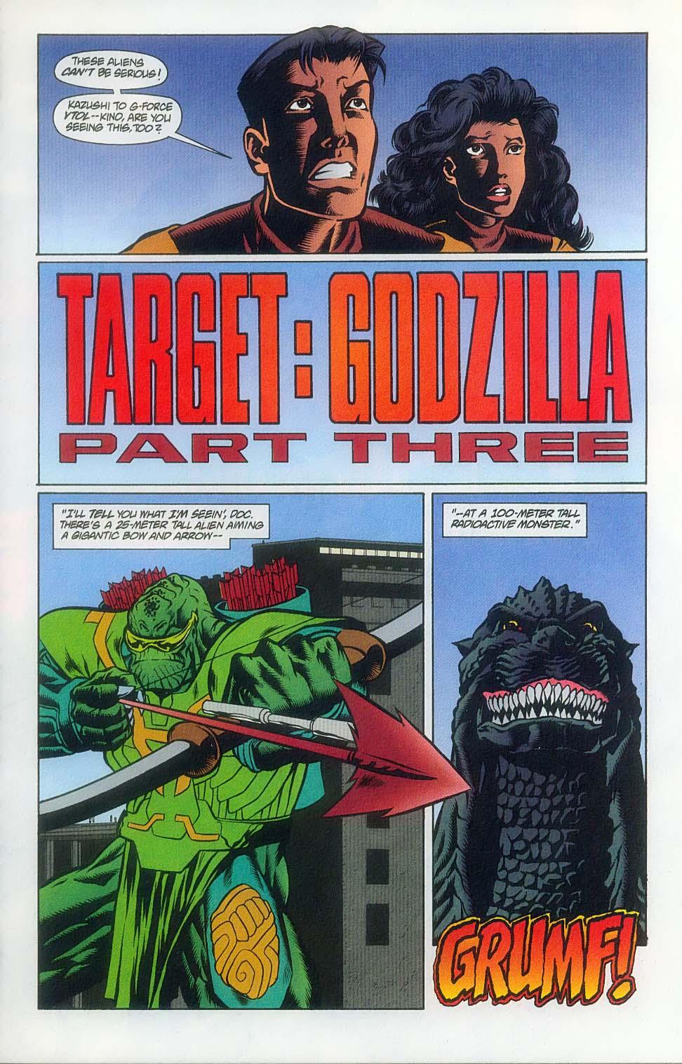 Godzilla (1995) Issue #7 #8 - English 4