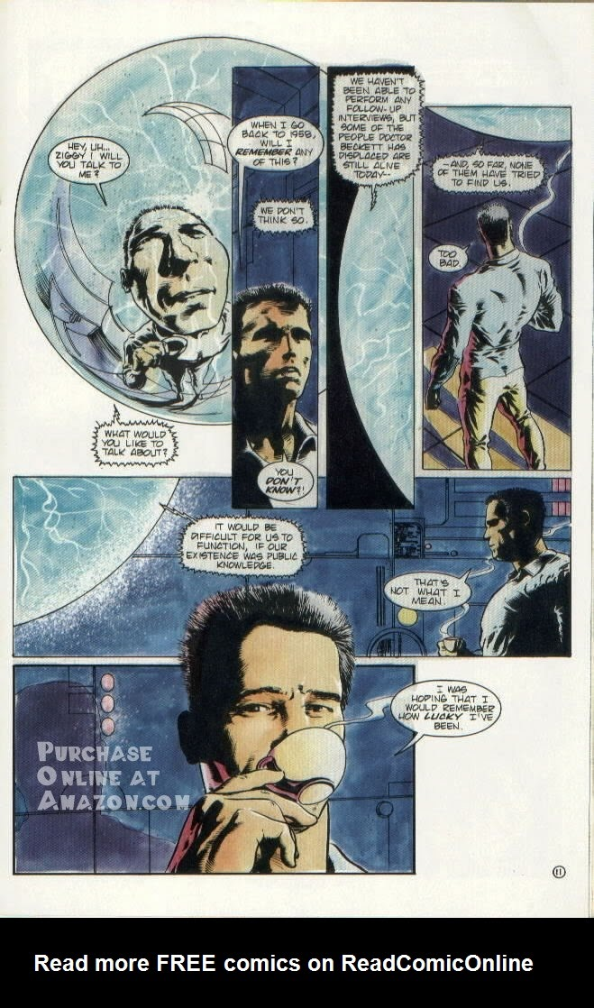 Read online Quantum Leap comic -  Issue #8 - 12