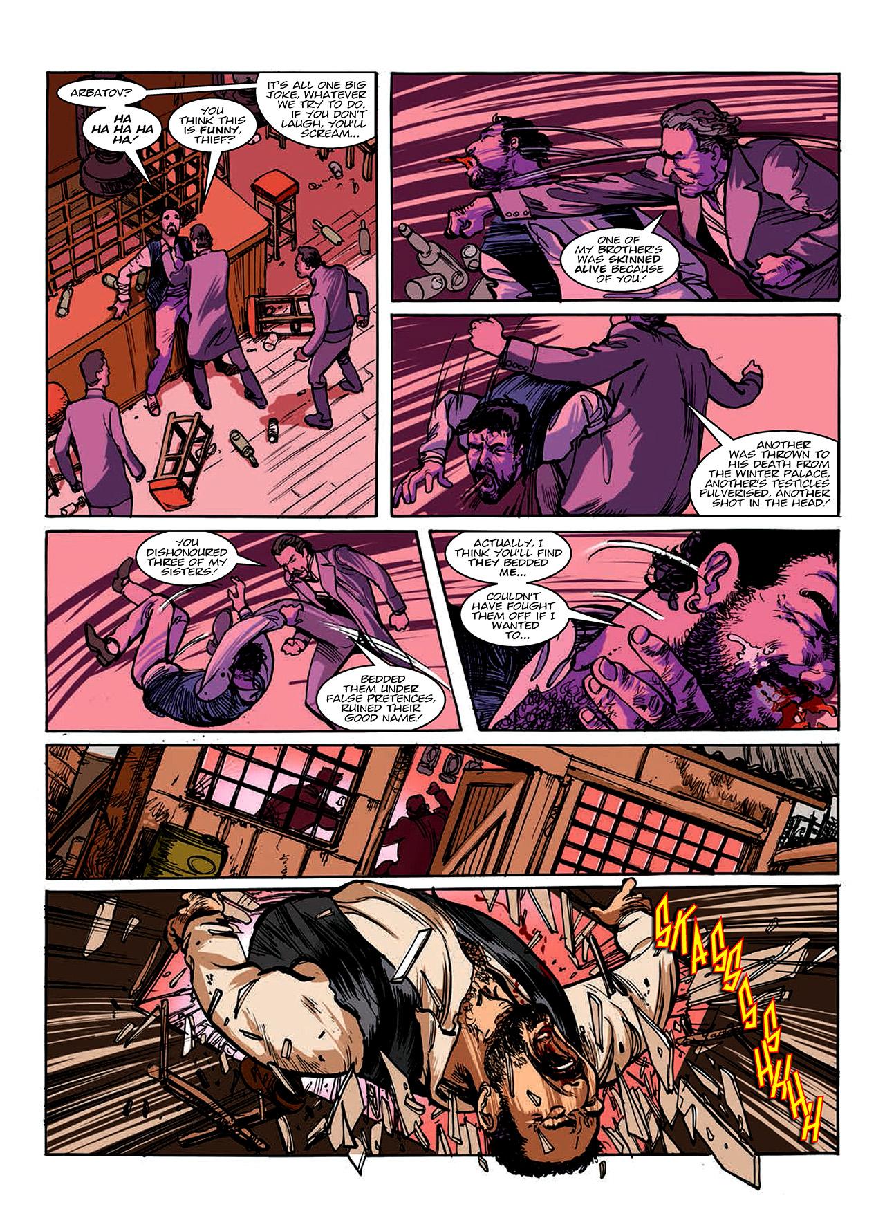 Read online Nikolai Dante comic -  Issue # TPB 10 - 136