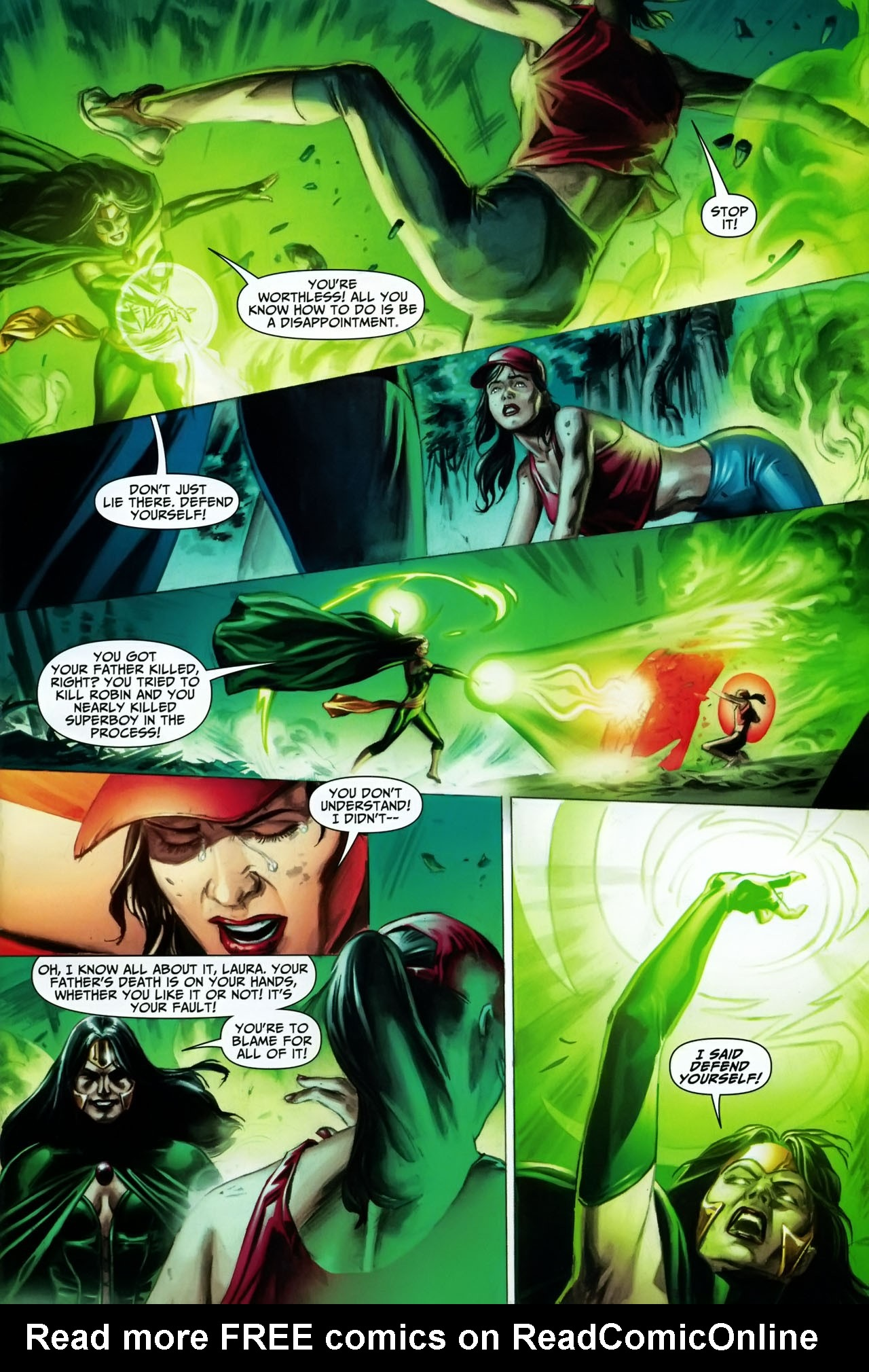 Read online Shadowpact comic -  Issue #17 - 19