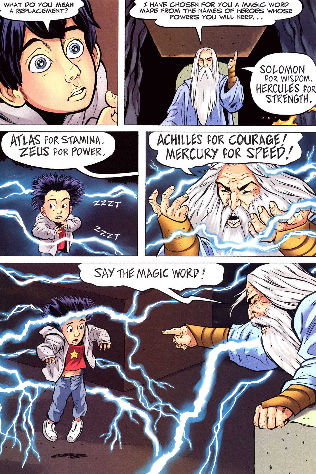 Read online Shazam!: The Monster Society of Evil comic -  Issue #1 - 22