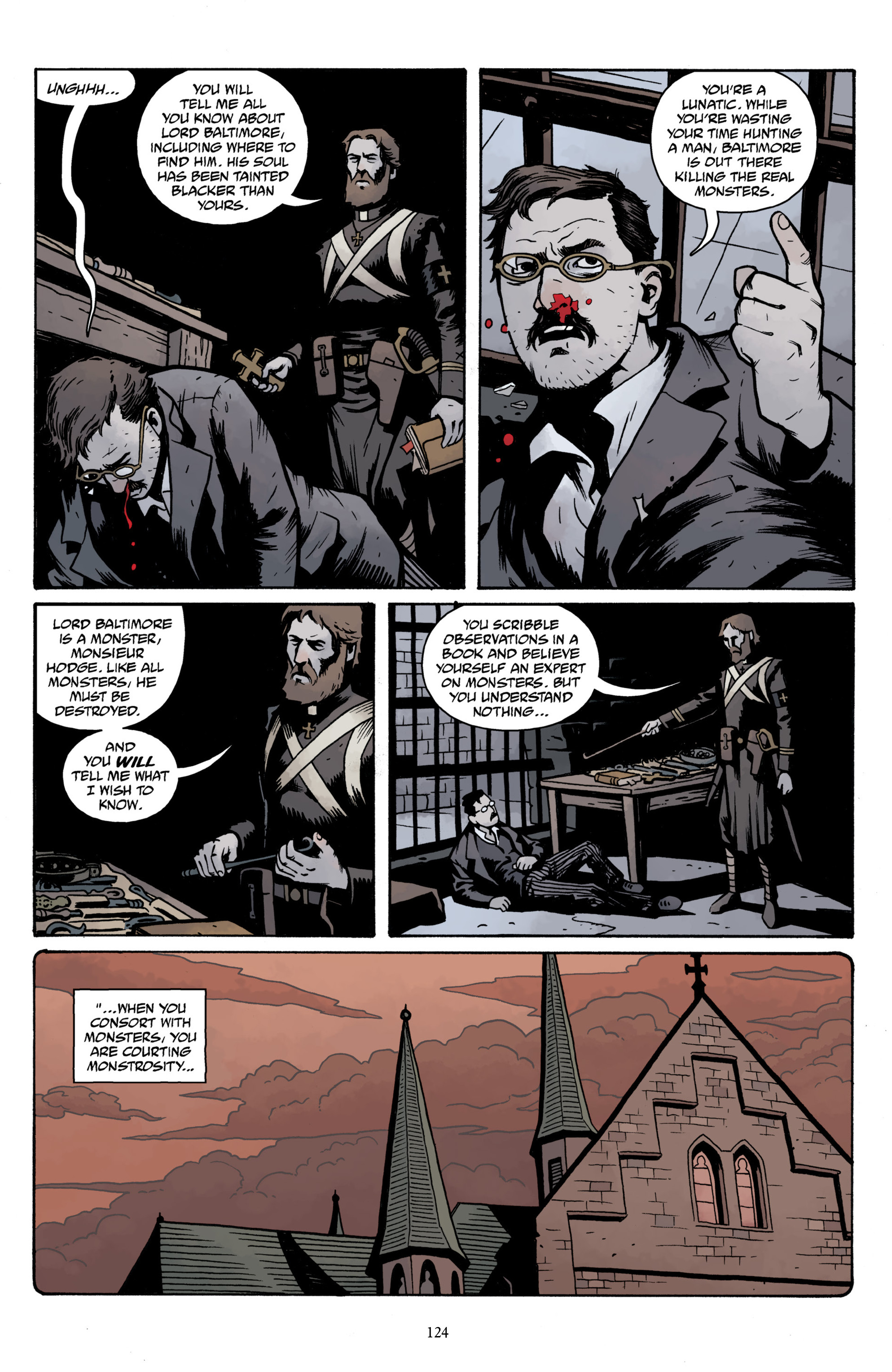 Read online Baltimore Volume 3: A Passing Stranger and Other Stories comic -  Issue # Full - 126