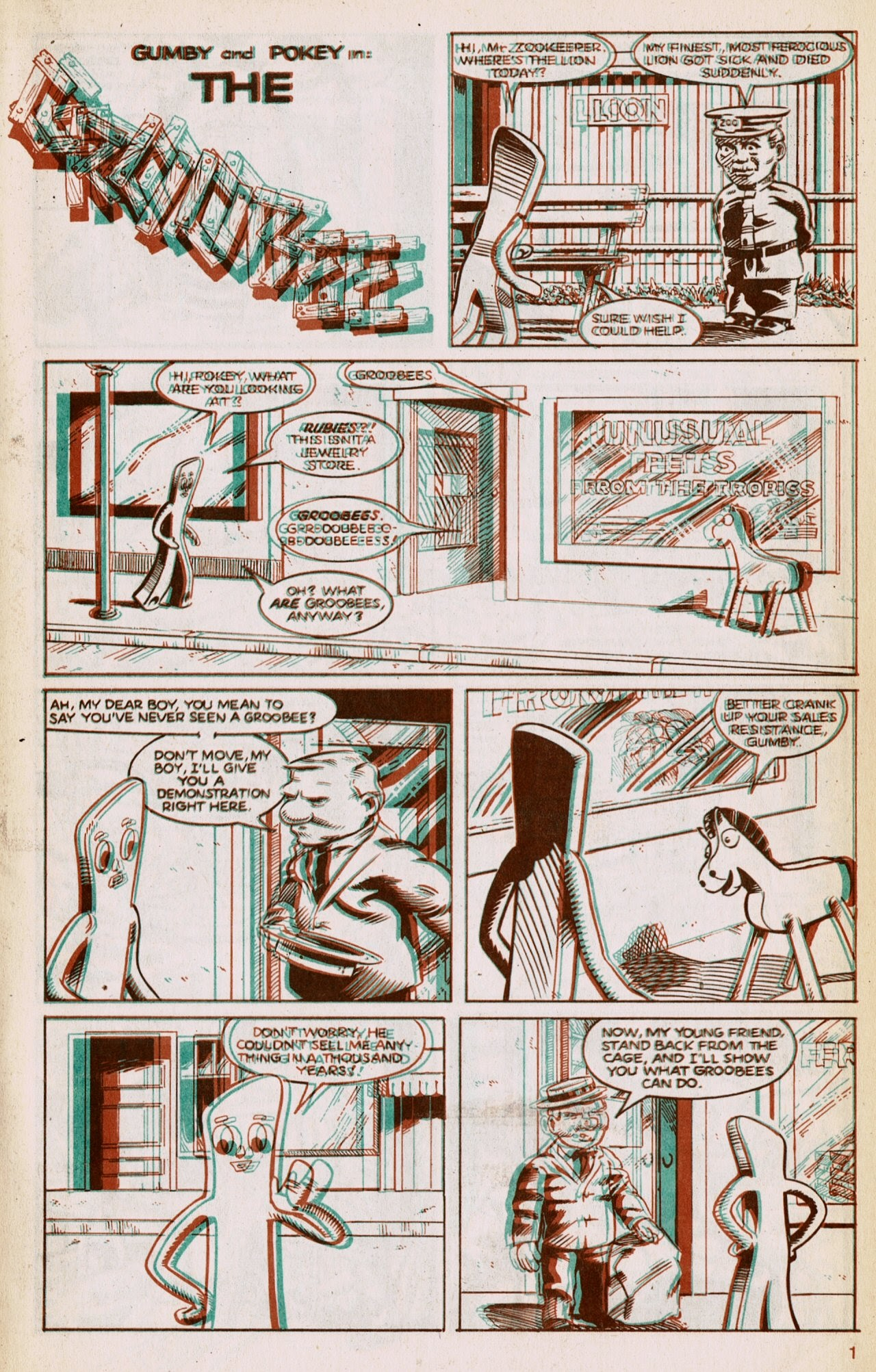 Gumby 3-D issue 1 - Page 3
