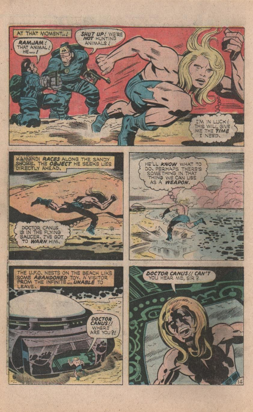 Kamandi, The Last Boy On Earth issue 32 - Page 16