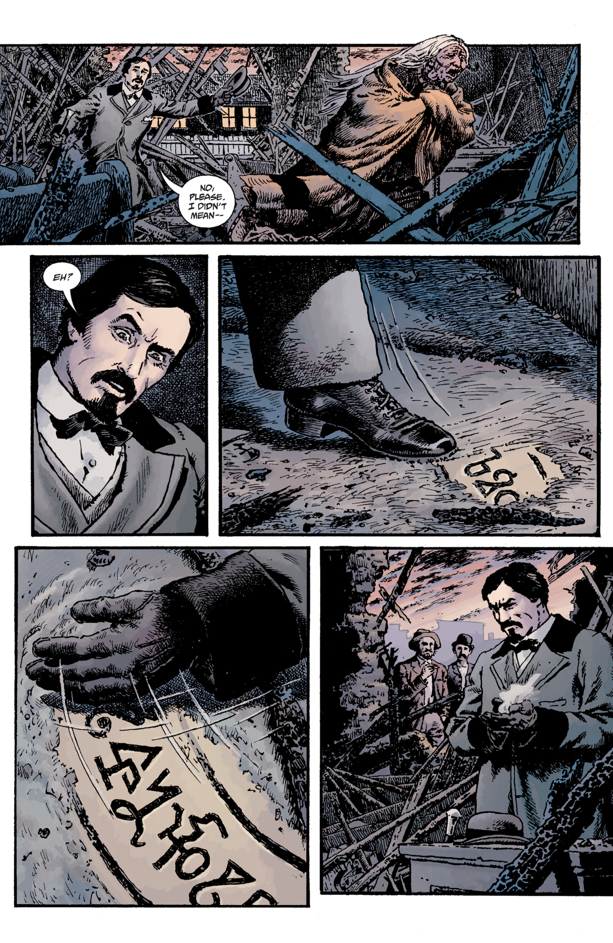 Read online Sir Edward Grey, Witchfinder: Lost and Gone Forever comic -  Issue # TPB - 13