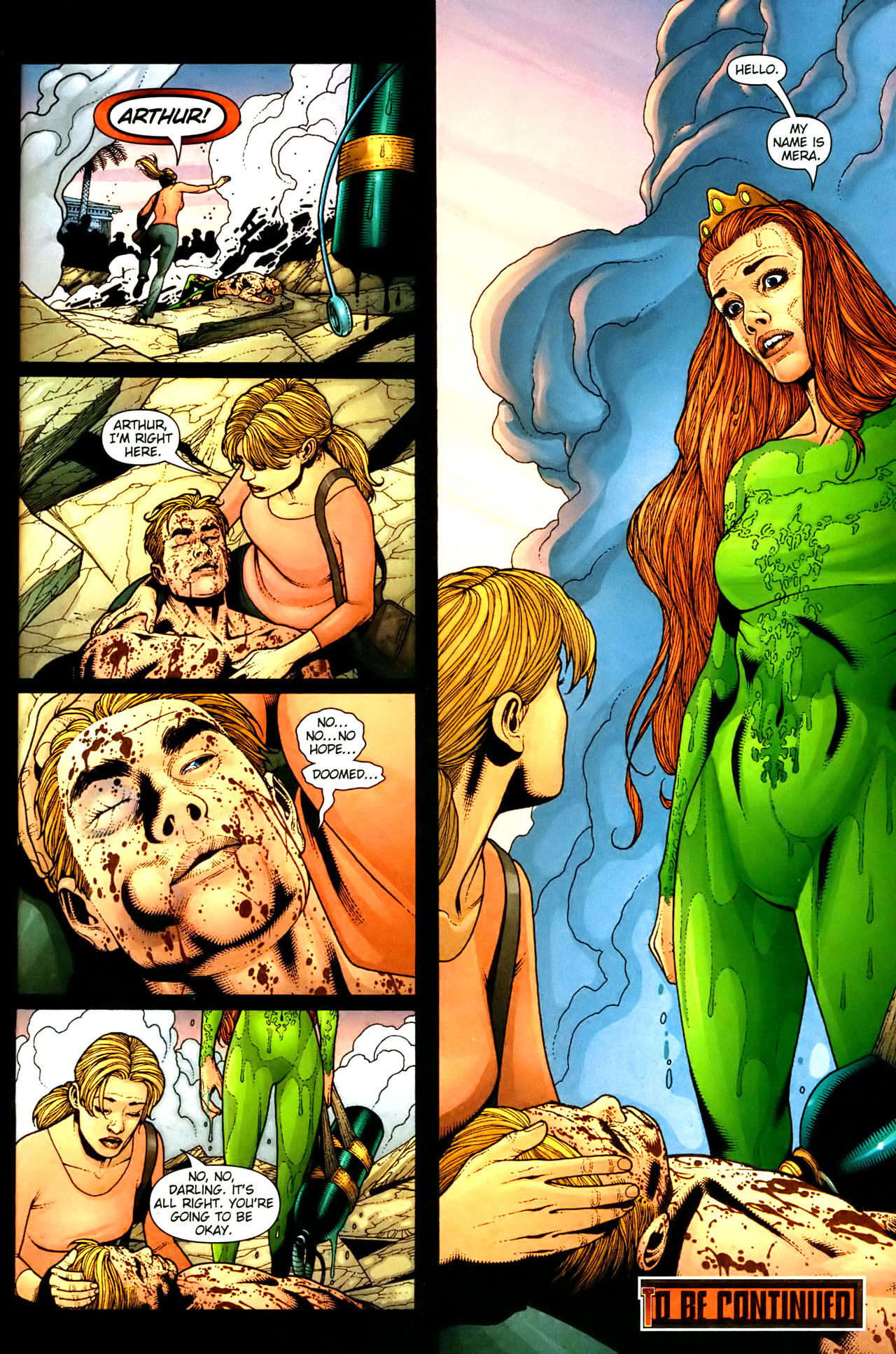 Read online Aquaman (2003) comic -  Issue #35 - 22
