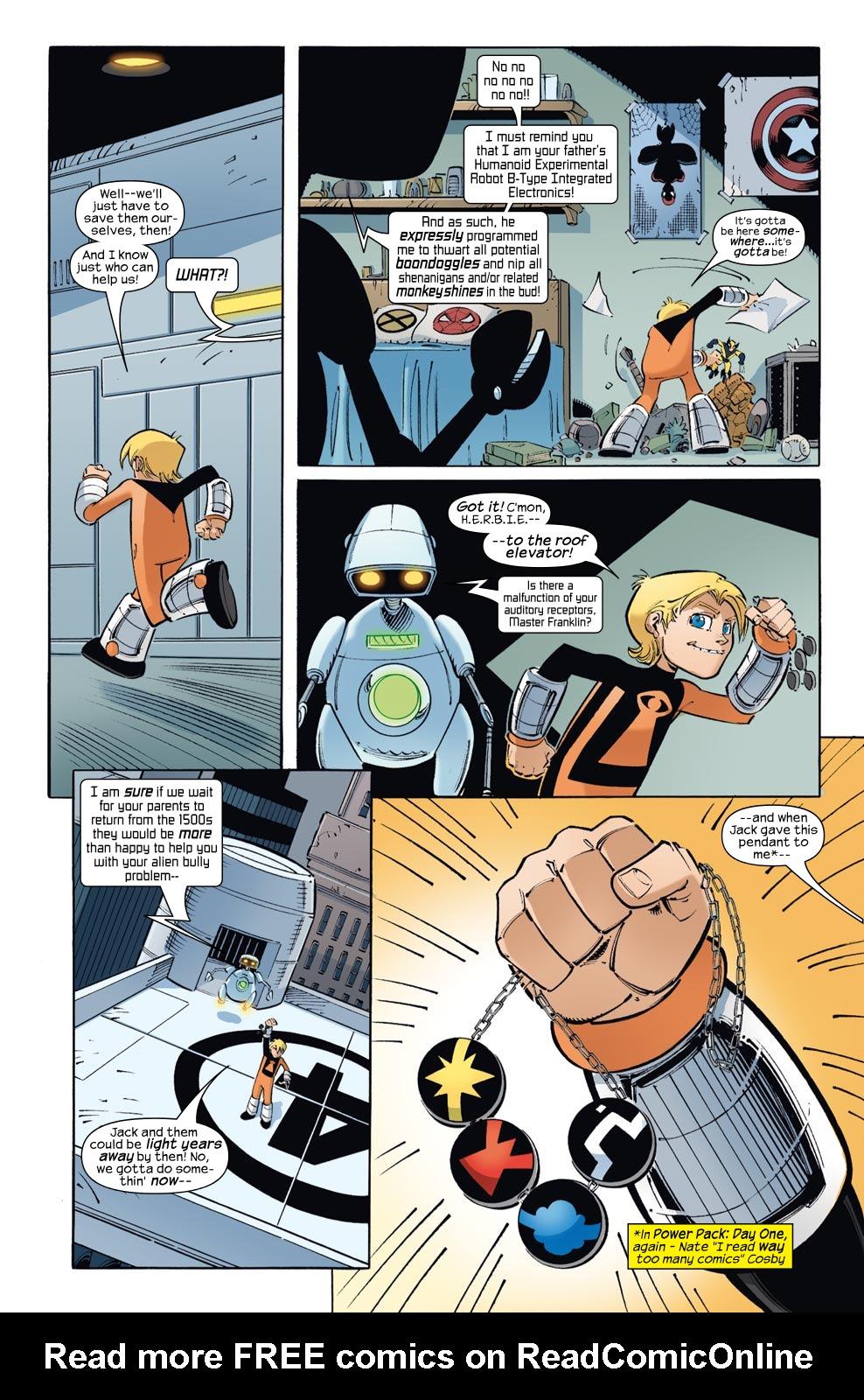 Read online Skrulls vs. Power Pack comic -  Issue #1 - 18