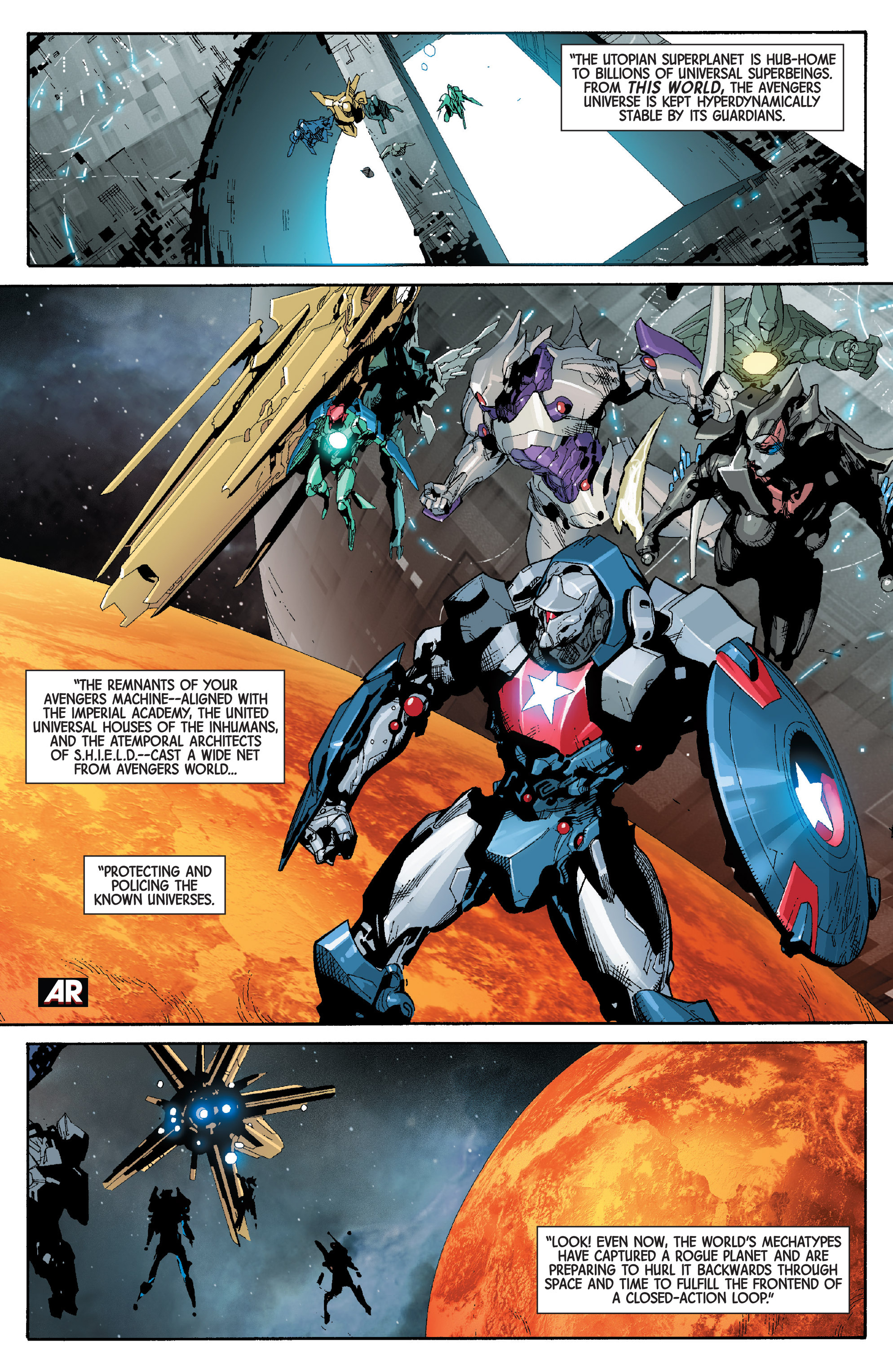 Read online Avengers (2013) comic -  Issue #32 - 16