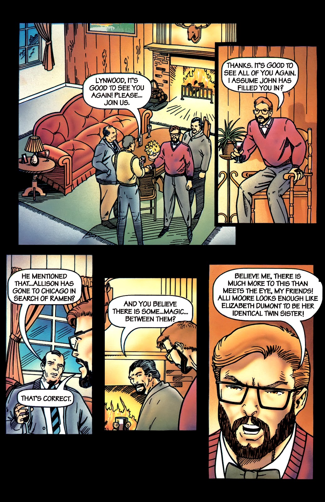 Read online Perg comic -  Issue #4 - 18