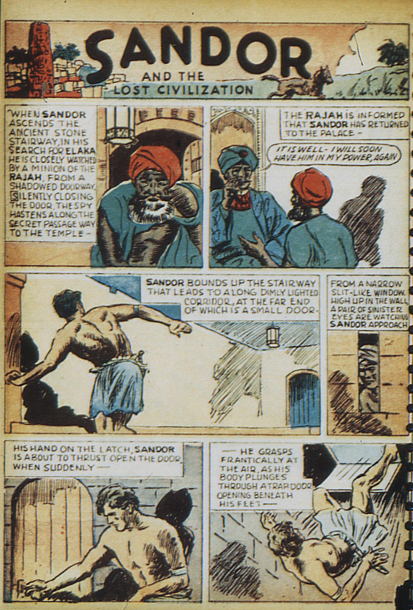 Read online Adventure Comics (1938) comic -  Issue #13 - 12