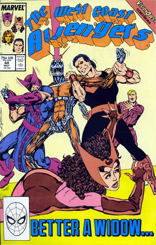 West Coast Avengers (1985) 44 Page 1