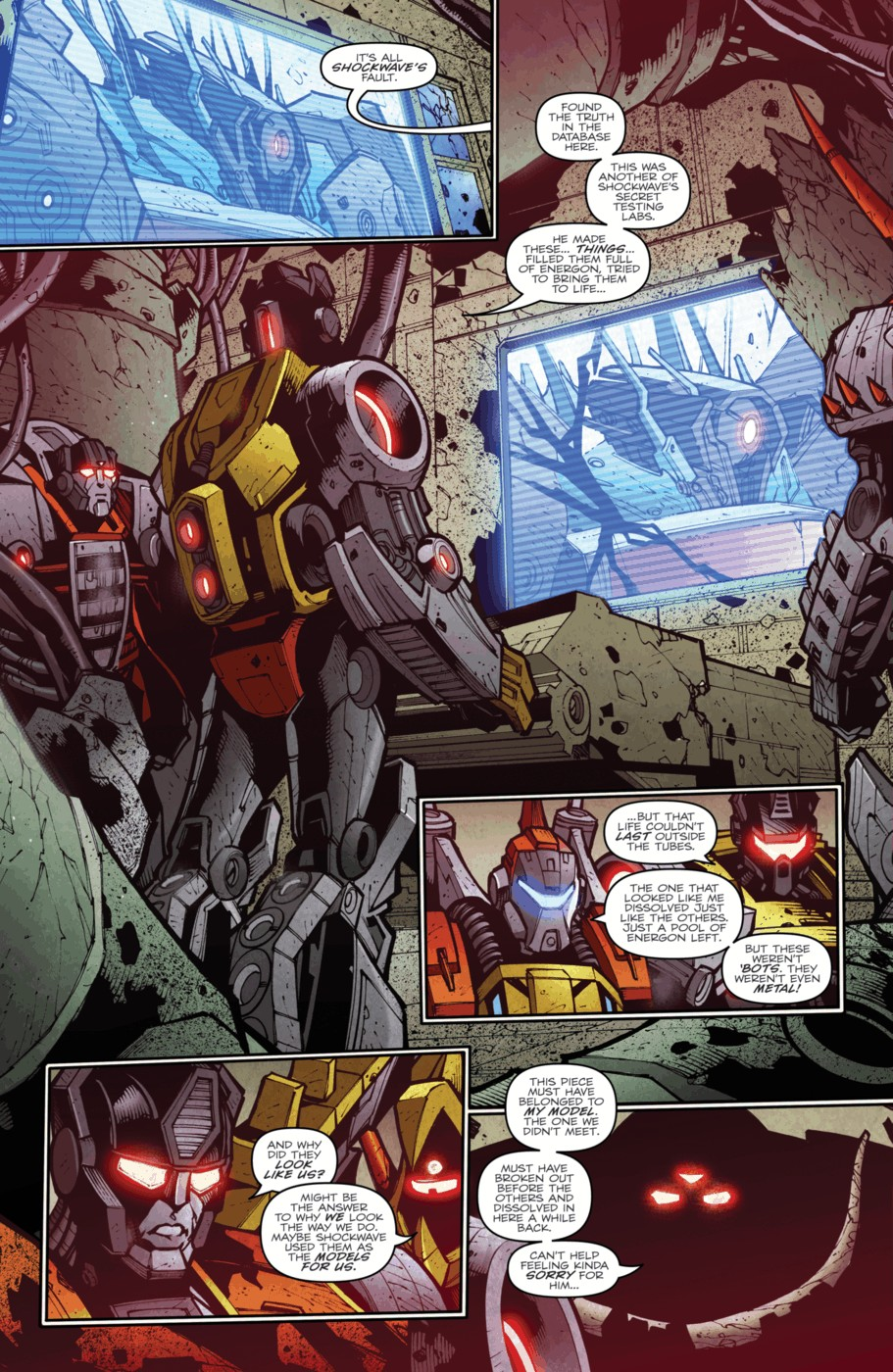 Read online Transformers Prime: Beast Hunters comic -  Issue #4 - 22
