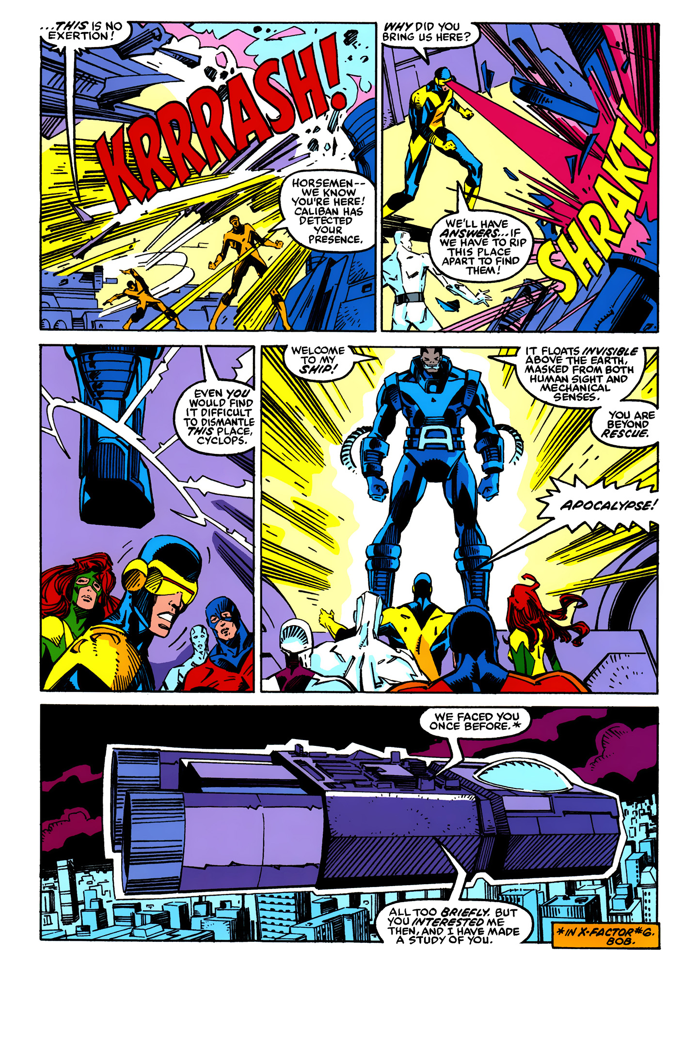 Read online X-Factor (1986) comic -  Issue #24 - 4