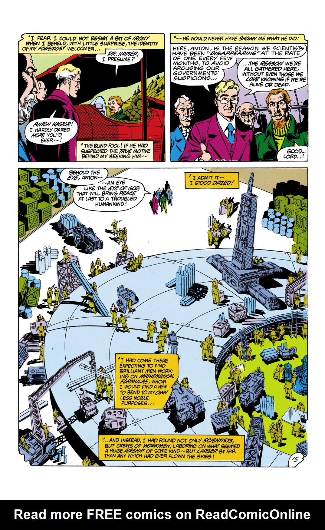 Read online All-Star Squadron comic -  Issue #12 - 16