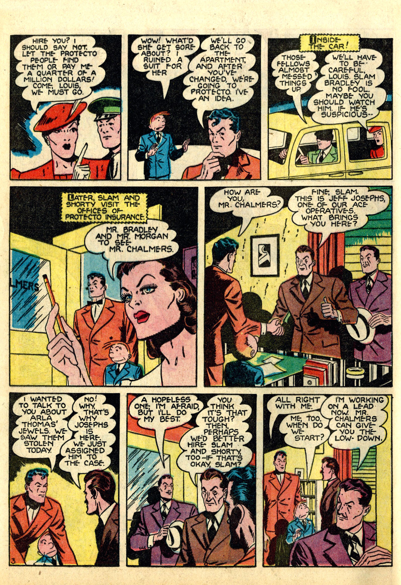 Read online Detective Comics (1937) comic -  Issue #50 - 60