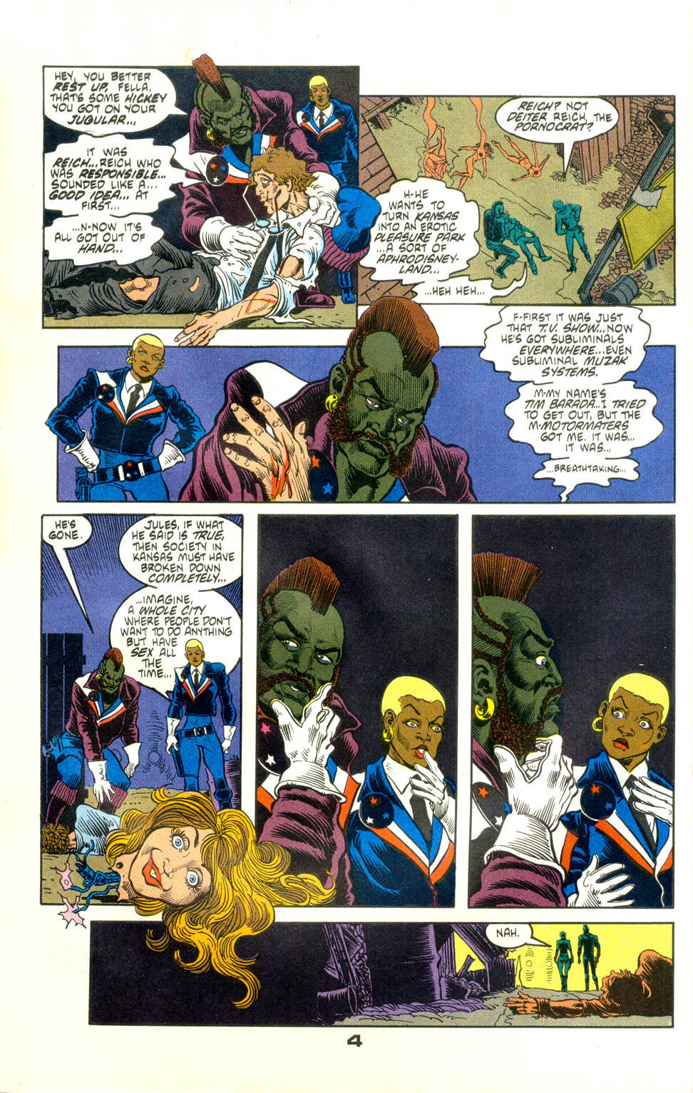 Read online American Flagg! comic -  Issue #24 - 26