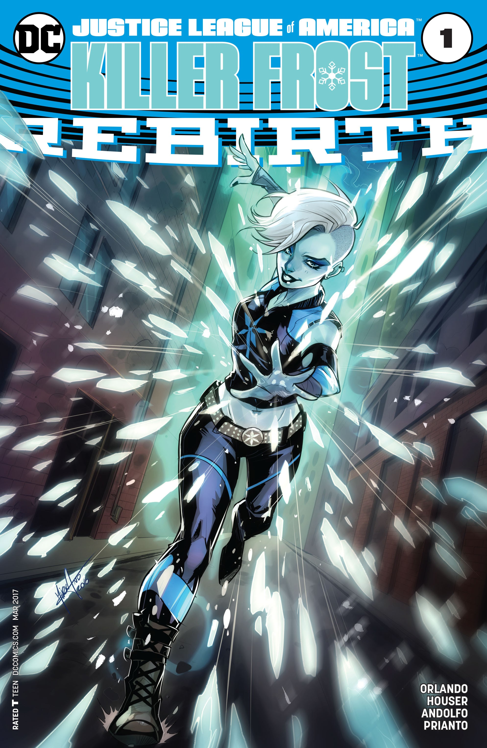 Read online Justice League of America: Killer Frost - Rebirth comic -  Issue # Full - 3
