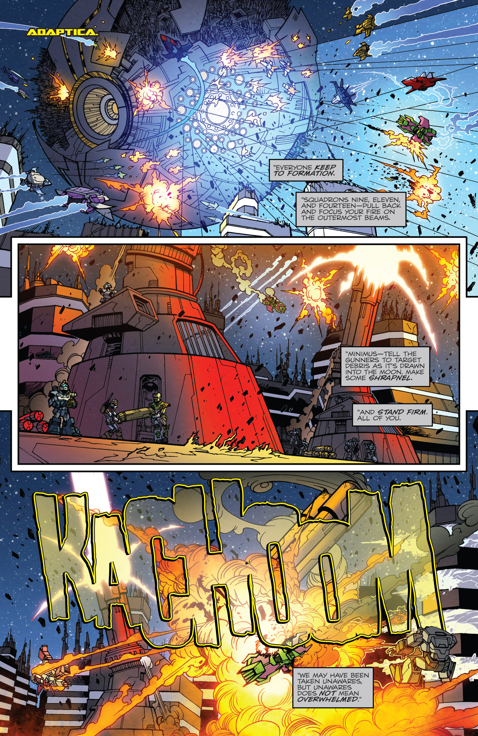 Read online Transformers: Lost Light comic -  Issue #5 - 7