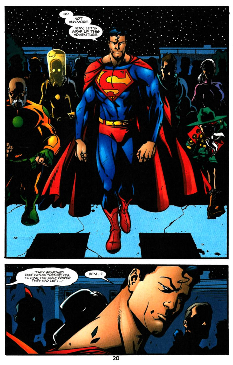 Read online Adventures of Superman (1987) comic -  Issue #616 - 21