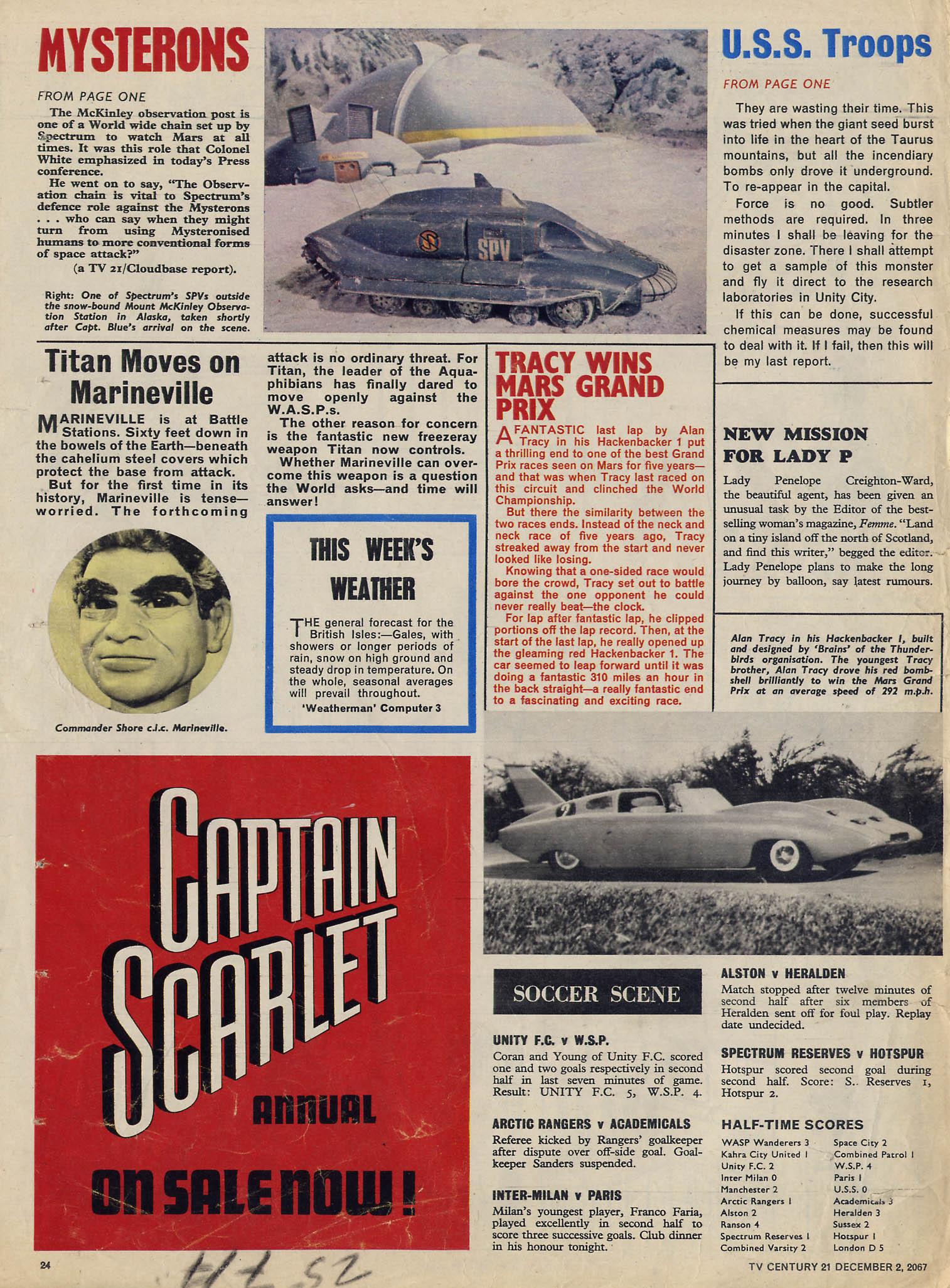Read online TV Century 21 (TV 21) comic -  Issue #150 - 23