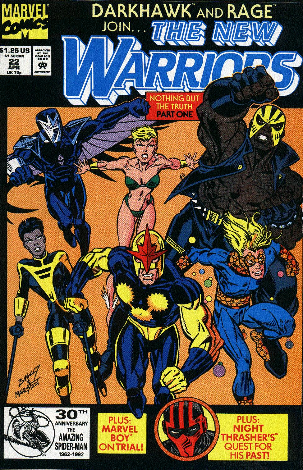 The New Warriors Issue #22 #26 - English 1