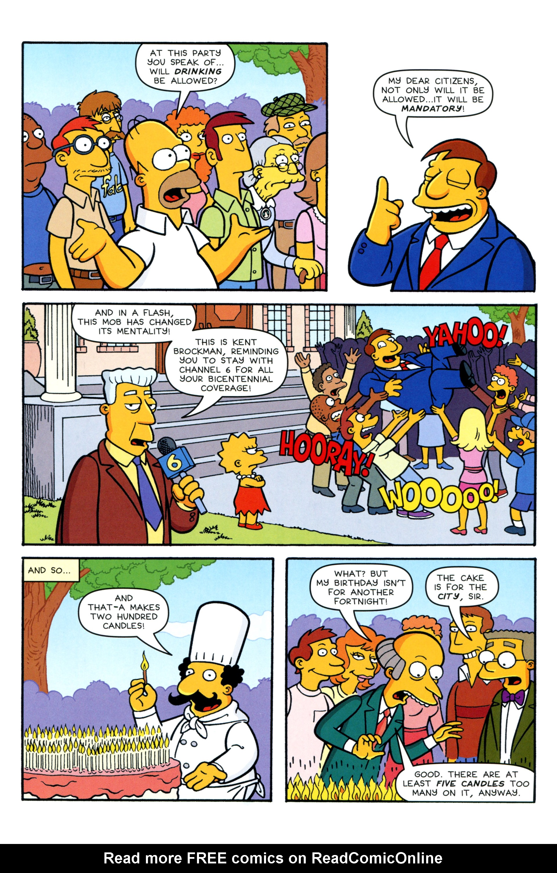 Read online Simpsons Comics comic -  Issue #200 - 9