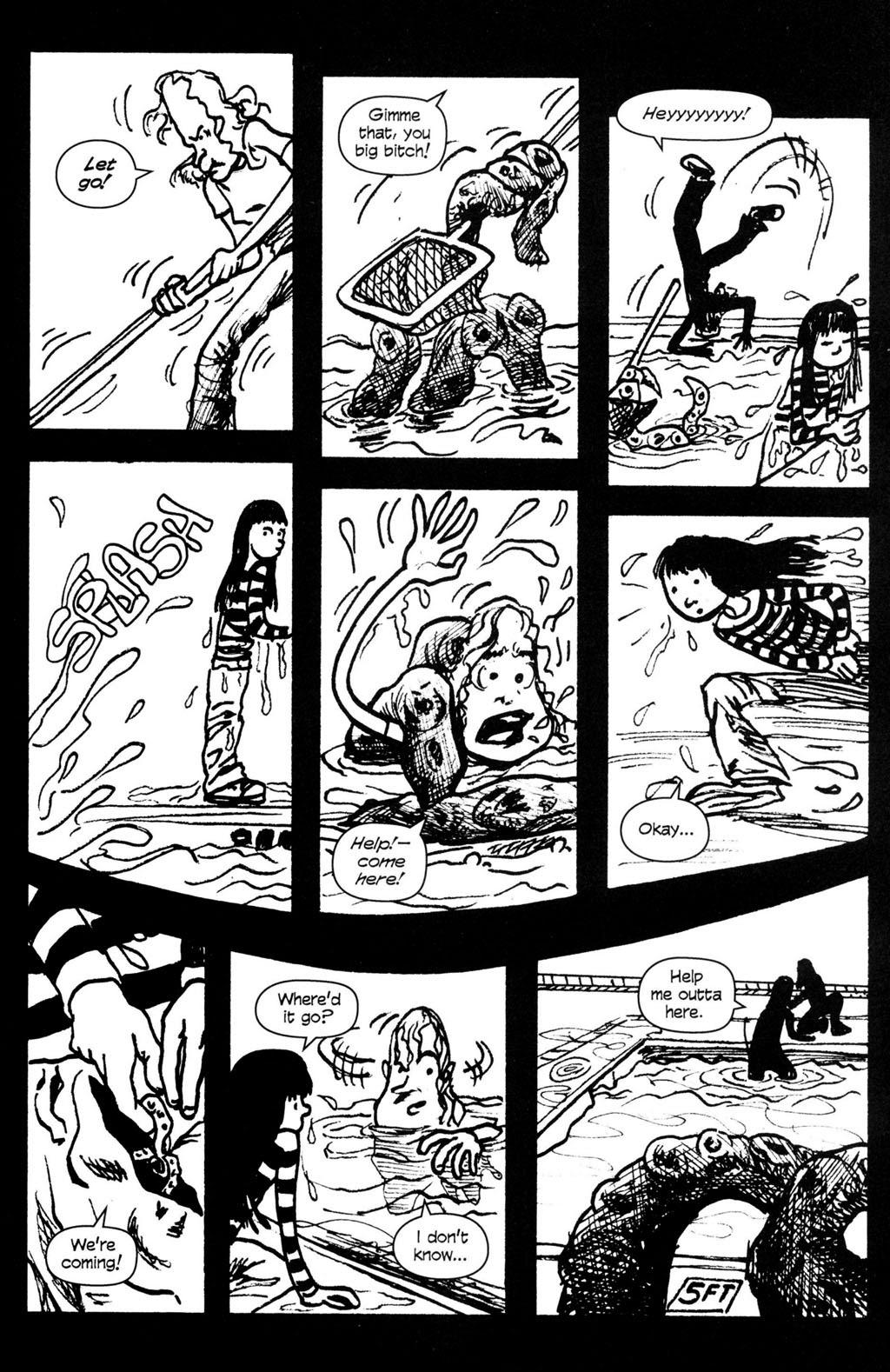 Read online Ojo comic -  Issue #4 - 15