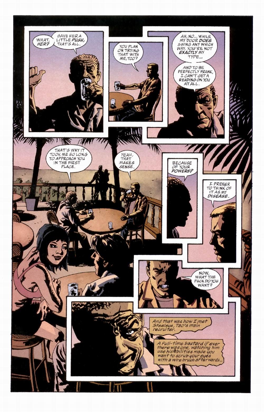 Read online Sleeper comic -  Issue #2 - 7