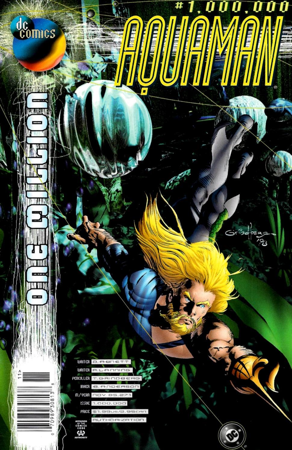 Aquaman (1994) 1000000 Page 1
