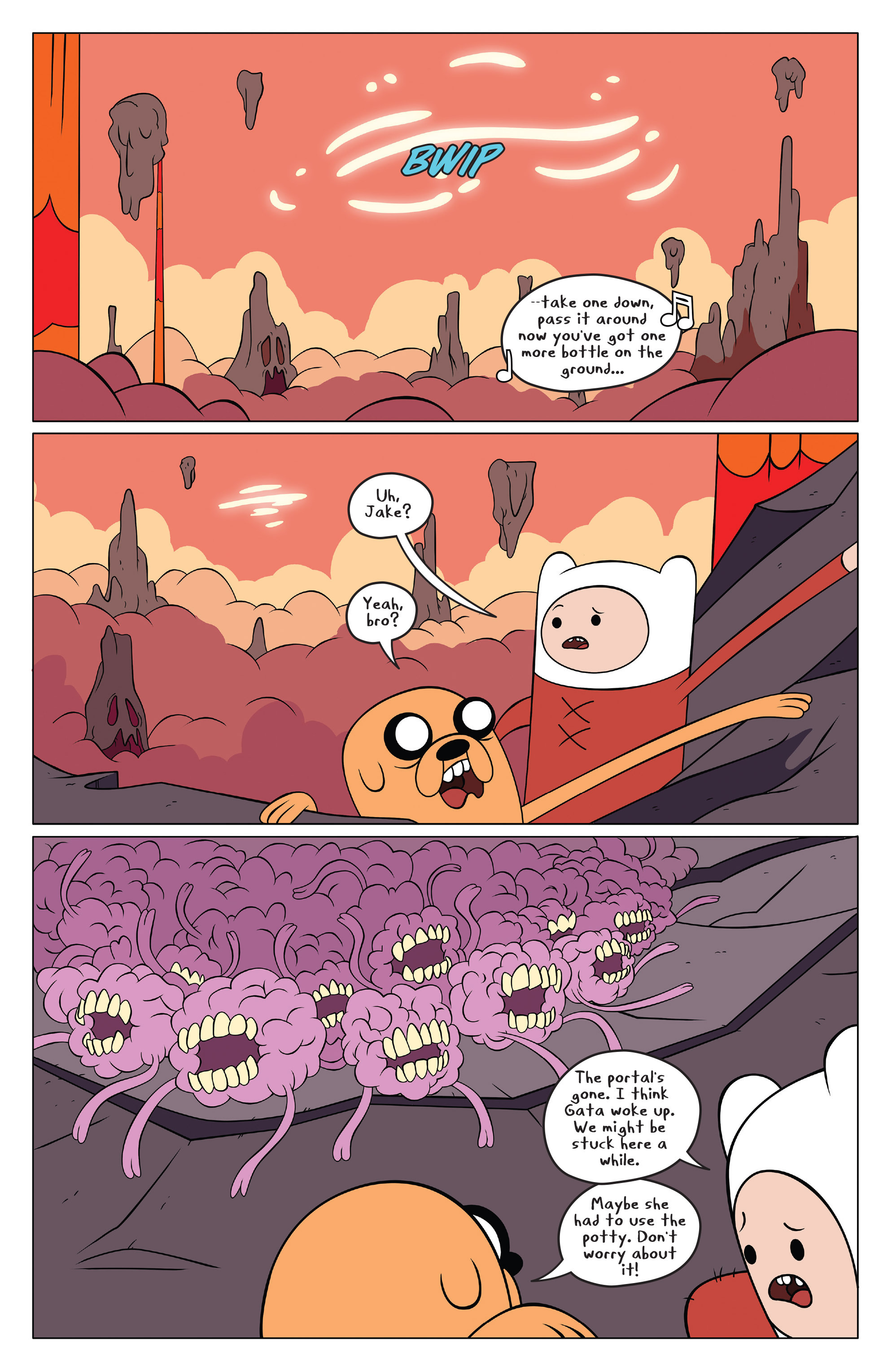 Read online Adventure Time comic -  Issue #49 - 8