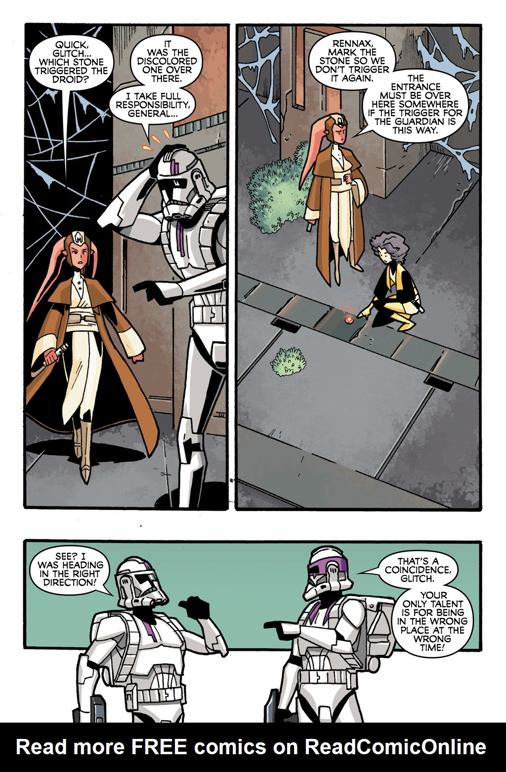 Read online Star Wars: The Clone Wars - Defenders of the Lost Temple comic -  Issue # Full - 24