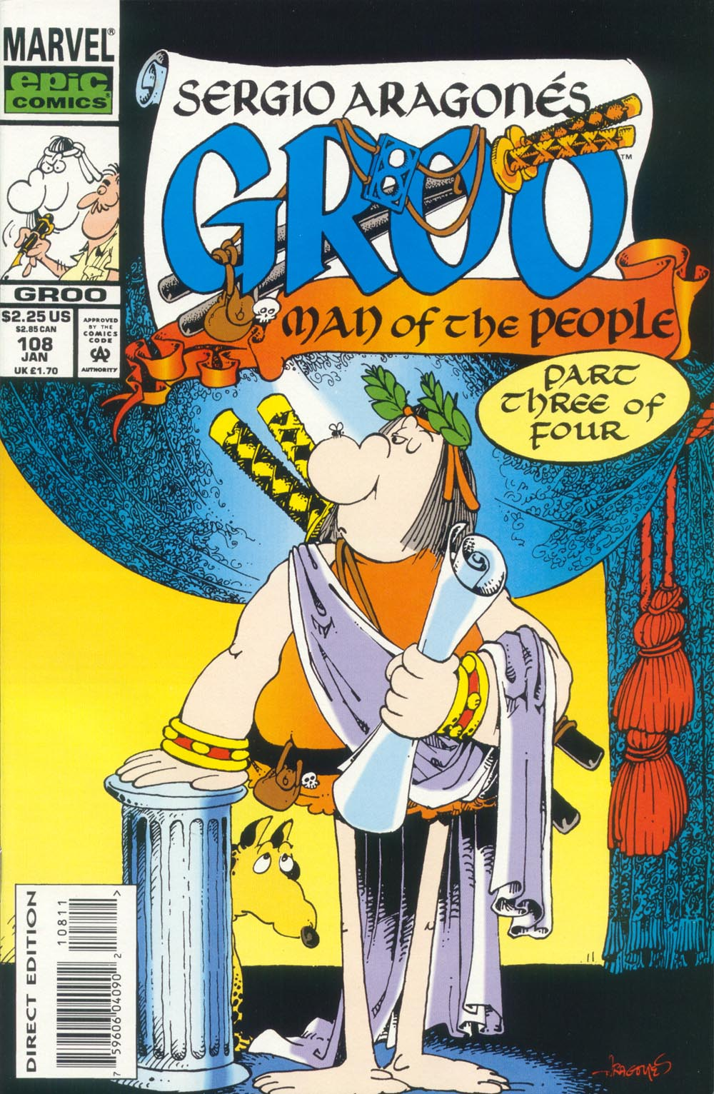 Read online Sergio Aragonés Groo the Wanderer comic -  Issue #108 - 1
