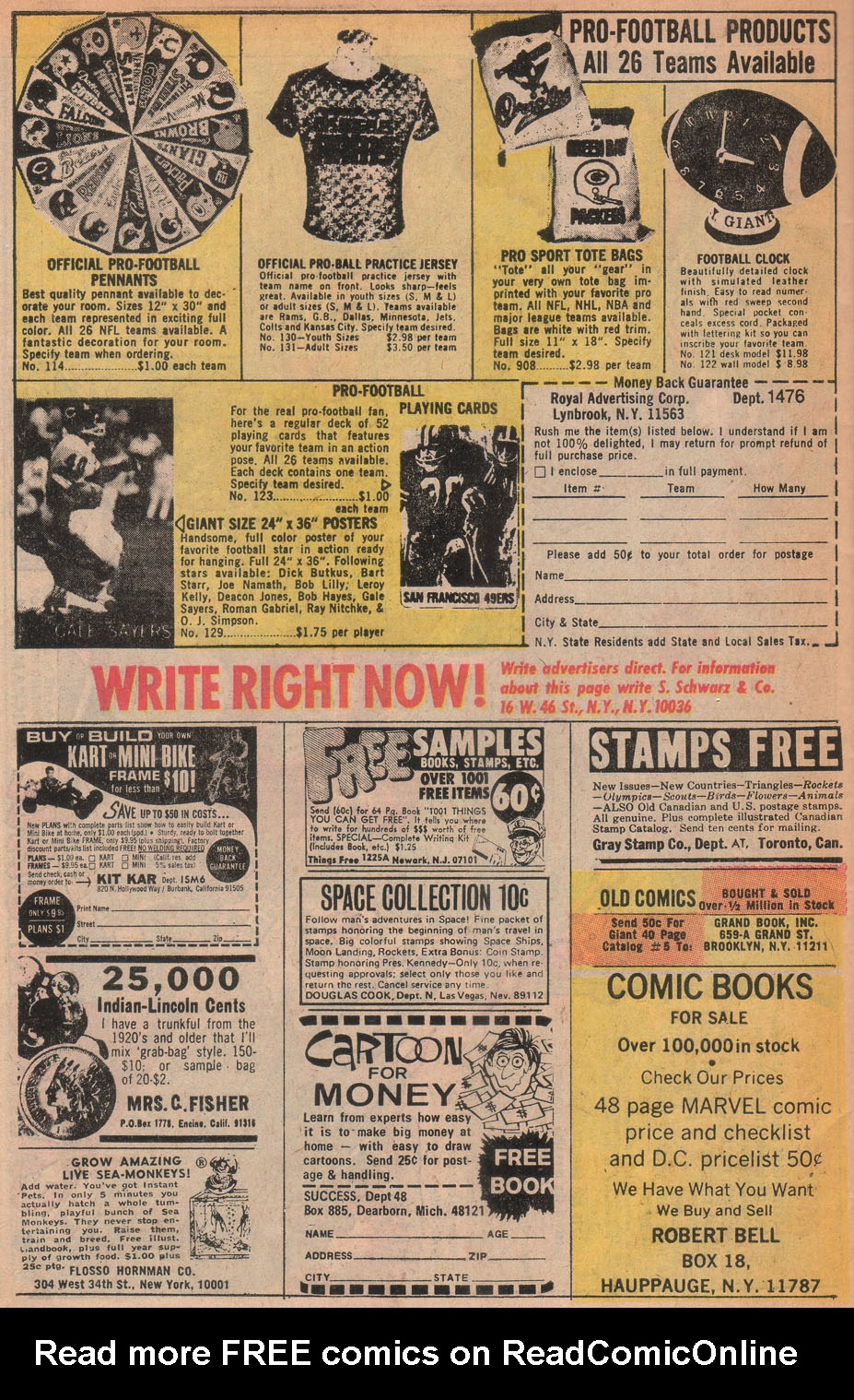 Read online All-Star Western (1970) comic -  Issue #9 - 50