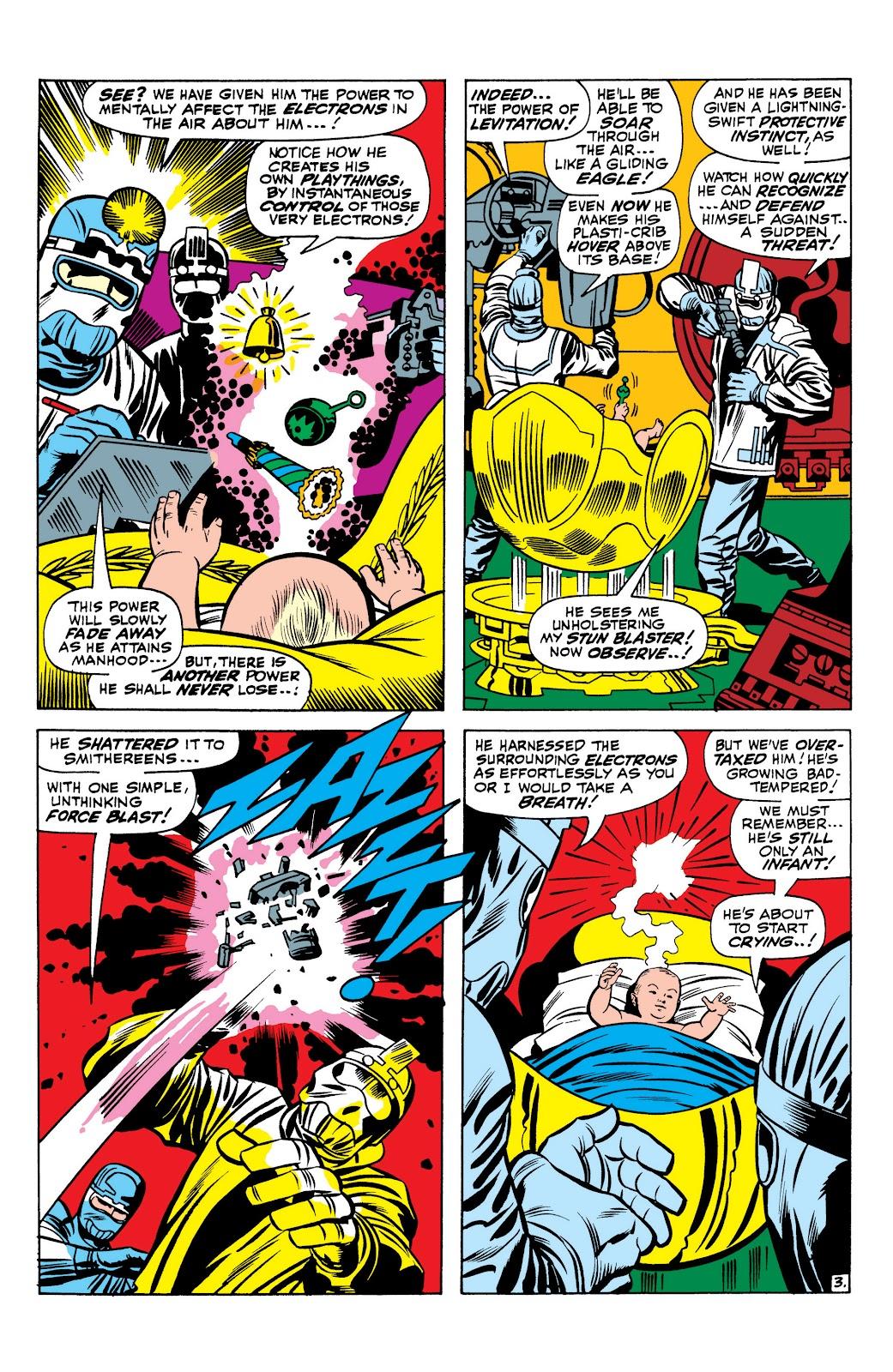 Read online Marvel Masterworks: The Inhumans comic -  Issue # TPB 1 (Part 1) - 20