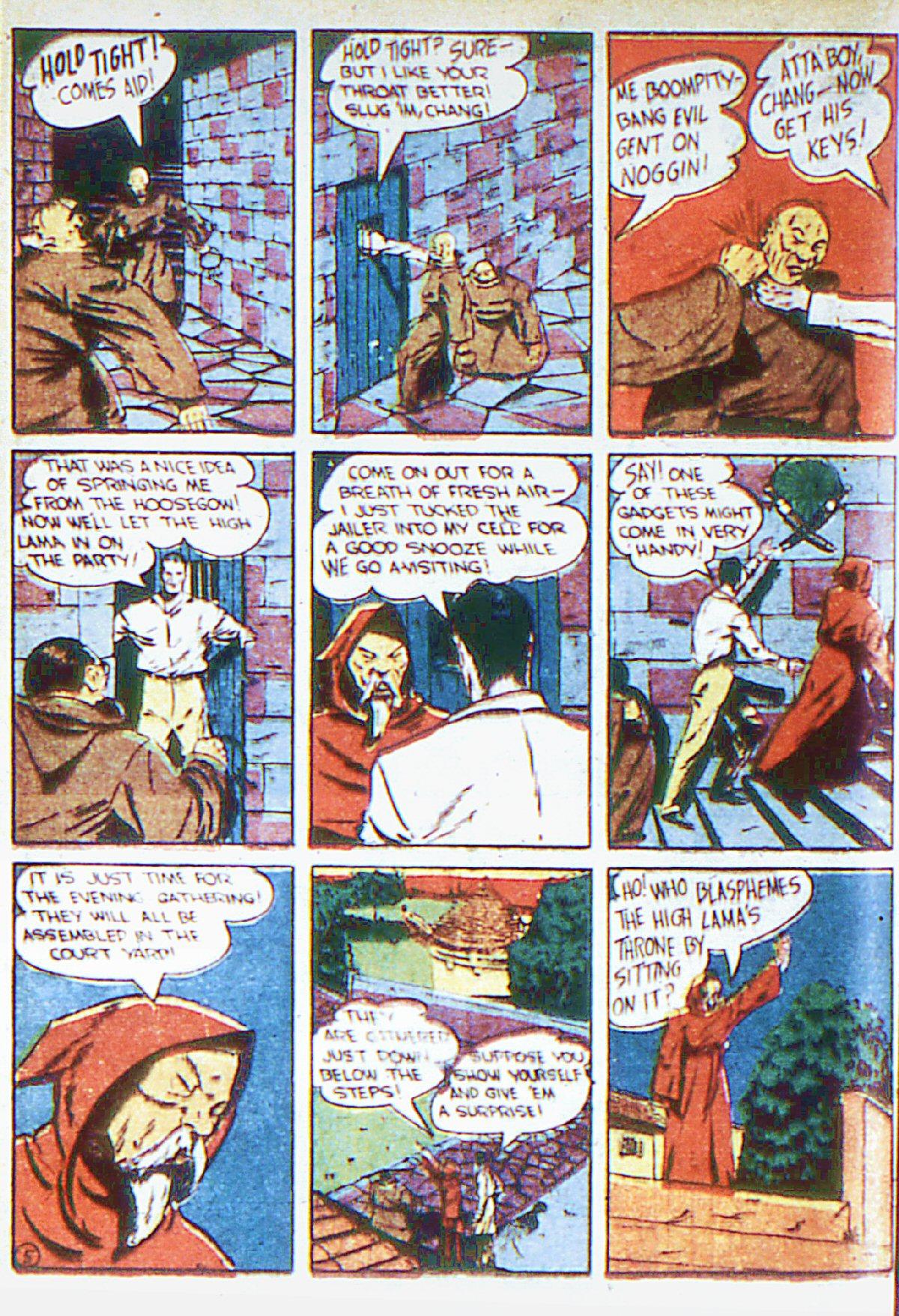 Read online Adventure Comics (1938) comic -  Issue #66 - 45