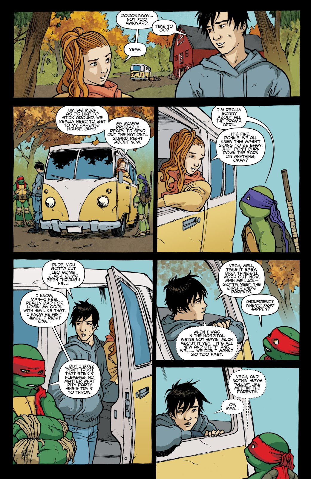 Read online Teenage Mutant Ninja Turtles: The IDW Collection comic -  Issue # TPB 4 (Part 1) - 22